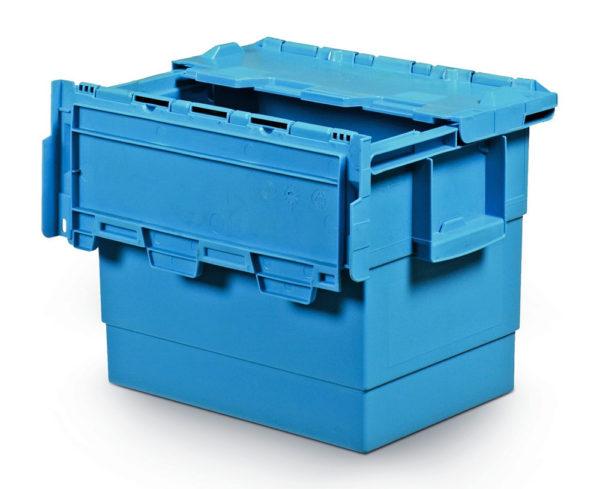 Integra-hinged-lid-400x300x300-PP-blue